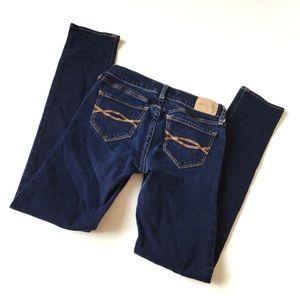 Abercrombie Kids Sz 10 Jeans Girls Dark Wash